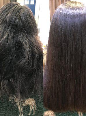 縮毛矯正施術例54