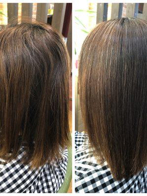 縮毛矯正施術例52