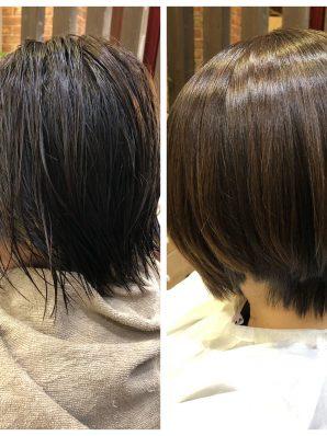 縮毛矯正施術例55
