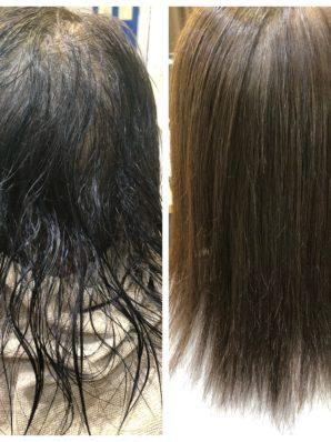 縮毛矯正施術例66